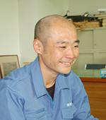 職業訓練校 卒業生 長井康明(平成17年卒業)